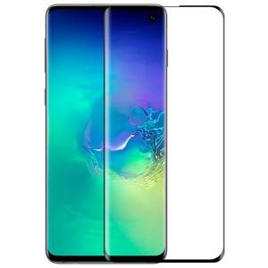 Стекло защитное 3D Premium Krutoff для Samsung Galaxy S10 - фото 45705