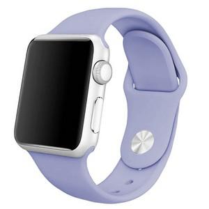 Ремешок Krutoff Silicone для Apple Watch 38/40mm (lilac) 41 - фото 49684