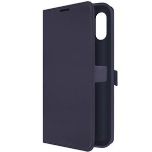 Чехол-книжка Krutoff Eco Book для Samsung Galaxy A02 (A022) синий - фото 49757