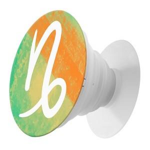 Пластмассовый держатель Krutoff для телефона Попсокет Знак Зодиака КОЗЕРОГ - фото 63882