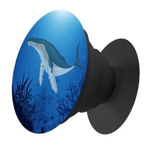 Пластмассовый держатель Krutoff для телефона Попсокет Природа Океан - фото 63970