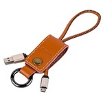 USB кабель micro 0.3 м REMAX Western RC-034m Brown