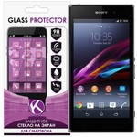 Защитное стекло для Sony Xperia Z1 0.26mm Krutoff