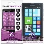 Защитное стекло для Nokia Lumia 532 0.26mm Krutoff