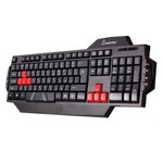 Водостойкая игровая клавиатура USB RUSH 201 SmartBuy Black