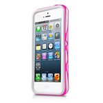 Бампер Itskins для iPhone 5/5s Venum (White&Pink)