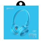 Наушники bluetooth Gorsun E87 со встроенным MP3-плеером (blue)
