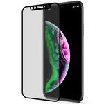 Стекло защитное 3D Dotfes E05 Anti-Peep для iPhone X/XS/11 Pro (black) с рамкой для наклеивания