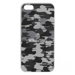 Накладка на Iphone 5/5S/SE PATTERN MILITARY GREY
