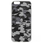 Накладка на Iphone 6/6S PATTERN MILITARY GREY
