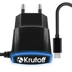 СЗУ Krutoff CH-23 micro USB, 1.1A