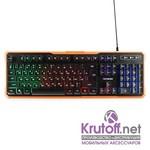 """Клавиатура игровая Гарнизон GK-320G, подсветка, код """"Survarium"""", USB, черный, антифантомные клавиши,12 дополнительных функций"""