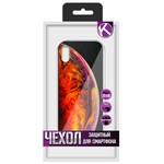 """Чехол защитный Krutoff """"ЭКРАН стекло"""" для iPhone XS (15473)"""
