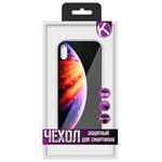 """Чехол защитный Krutoff """"ЭКРАН стекло"""" для iPhone XS (15479)"""