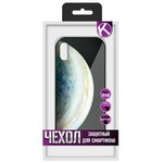 """Чехол защитный Krutoff """"ЭКРАН стекло"""" для iPhone XS Max (15480)"""