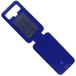 Чехол-флип Krutoff универсальный для смартфонов 5,5-6 с вырезом под камеру (синий)