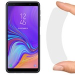 Стекло защитное гибридное Krutoff для Samsung Galaxy A7 (2017)