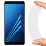 Стекло защитное гибридное Krutoff для Samsung Galaxy A8+ (2018)
