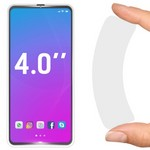 """Стекло защитное гибридное Krutoff универсальное для смартфонов 4.0"""""""