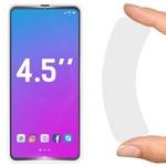"""Стекло защитное гибридное Krutoff универсальное для смартфонов 4.5"""""""