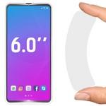 """Стекло защитное гибридное Krutoff универсальное для смартфонов 6.0"""""""