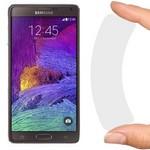 Стекло защитное гибридное Krutoff для Samsung Galaxy Note 4