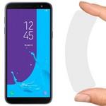 Стекло защитное гибридное Krutoff для Samsung Galaxy J6 (2018)