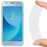 Стекло защитное гибридное Krutoff для Samsung Galaxy J3 (2017)