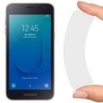 Стекло защитное гибридное Krutoff для Samsung Galaxy J2