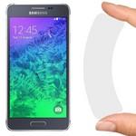 Стекло защитное гибридное Krutoff для Samsung Galaxy Alpha