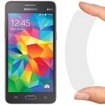Стекло защитное гибридное Krutoff для Samsung Galaxy Grand Prime