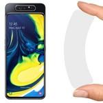 Стекло защитное гибридное Krutoff для Samsung Galaxy A80