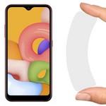 Стекло защитное гибридное Krutoff для Samsung Galaxy A01/M01