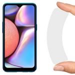 Стекло защитное гибридное Krutoff для Samsung Galaxy A10/A10S