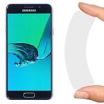Стекло защитное гибридное Krutoff для Samsung Galaxy A3 (2016)