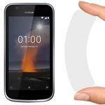 Стекло защитное гибридное Krutoff для Nokia 1
