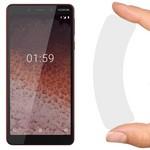Стекло защитное гибридное Krutoff для Nokia 1 Plus