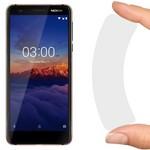 Стекло защитное гибридное Krutoff для Nokia 3.1