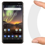 Стекло защитное гибридное Krutoff для Nokia 6.1 (2018)