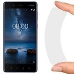 Стекло защитное гибридное Krutoff для Nokia 8