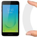Стекло защитное гибридное Krutoff для Samsung Galaxy J2 Core