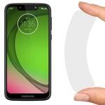 Стекло защитное гибридное Krutoff для Motorola Moto G7 Play