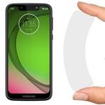 Стекло защитное гибридное Krutoff для Motorola Moto G7 Plus