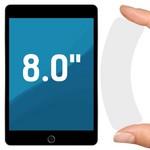 """Стекло защитное гибридное Krutoff универсальное для планшетов 8.0"""""""