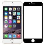 Стекло защитное Full Glue Premium Krutoff для iPhone 6/6S черное