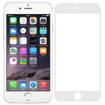 Стекло защитное Full Glue Premium Krutoff для iPhone 6/6S белое
