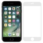 Стекло защитное Full Glue Premium Krutoff для iPhone 7/8 белое