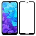 Стекло защитное Full Glue Premium Krutoff для Huawei Y5 2019/Honor 8S черное