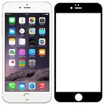 Стекло защитное Full Glue Premium Krutoff для iPhone 6 Plus/6S Plus черное