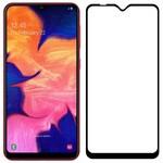 Стекло защитное Full Glue Premium Krutoff для Samsung Galaxy A10/A10s/M10 черное